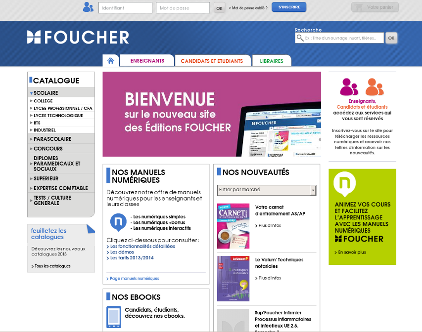 Editions Foucher